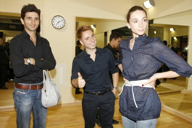 Con Alessandro Macario e Anbeta Toromani
